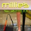 上海久光百货MILLIE'S妙丽女鞋专柜展示