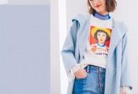 Rabiyi洛呗一女装2019春季温柔色系风衣一周穿搭推荐