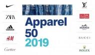 2019全球最有价值的50个服饰品牌公布,安踏和周大福再次入选