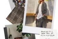 杰西卡JESSICA女装2019春夏新款格纹与花呢流行趋势