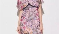 xmlee艾米尔女装2019春夏新款印花连衣裙流行趋势